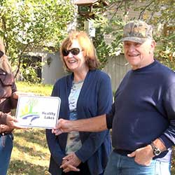Dave R. Cloverleaf Lakes Protective Association 2015 Healthy Lakes Participant